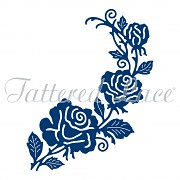 Die - Tattered Lace Rose Bunch