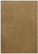 Samolepicí korkový papír / Granulate / 20.5x 28 cm / 1ks