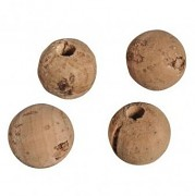Cork beads / 20mm / 4szt