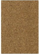 Cork fabric 45x30cm / 0,8mm / Granulate