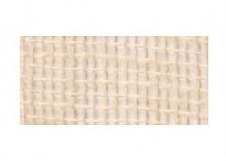 Jute ribbon cream / 7cm / 1m