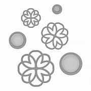 Spellbinders - Lacework Button Flowers