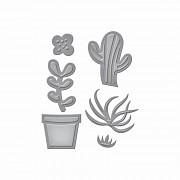 Kovové šablóny - Succulent Garden