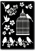 Decotransfer A5 / Cage and Birds