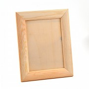 Wooden frame, rounded / 16x21cm