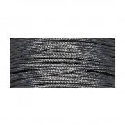 Wax cord with nylon core / ø 0.6mm / spool 10m / dark grey