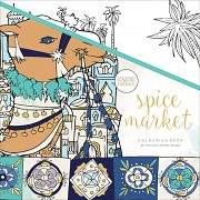 Colouring book / 25x25cm / Spice Market
