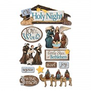 Sticker - 3D / Holy Night
