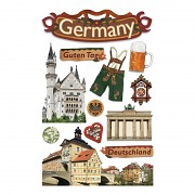 Sticker - 3D / Germany