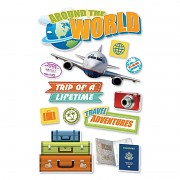 Sticker - 3D / World Travel