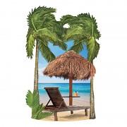 3D samolepky / Tropical Beach