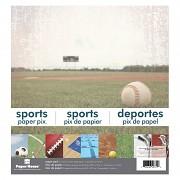 Sports Paper Pad 12x12 inch