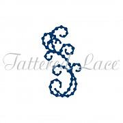 Vyrezávacia šablóna / Tattered Lace Mini Pearl Flourish 6
