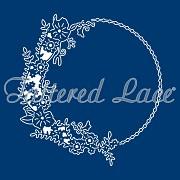 Vyrezávacia šablóna / Tattered Lace Melded Charming