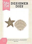Vyrezávacie šablóny / Echo Park Seashells Designer Dies