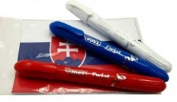 Schminkfarbe TWIST / weiß, blau, rot