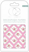 Craft Consortium Framed Posie Decoupage Papers