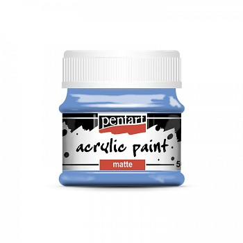 Pentart akrylová farba matná / čučoriedka
