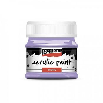 Pentart akrylová farba matná / svetlá fialová