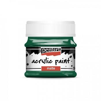 Pentart akrylová farba matná / jedľovo zelená