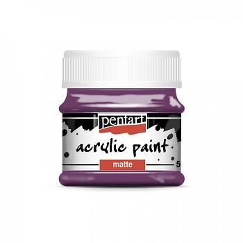 Pentart akrylová farba matná / fialová