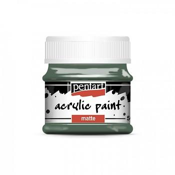 Pentart akrylová farba matná / khaki