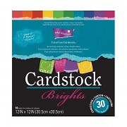 """Color Core Cardstock Collection 12x12"""" / 30 ks / Brights"""