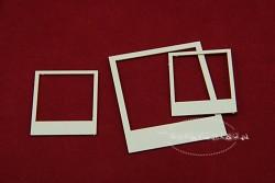 Chipboard - Photo Frame / 7pcs