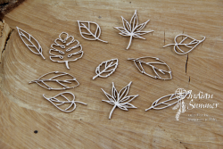 Chipboards - Indian Summer - Little leaves