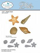Shells Small Wafer Thin Metal Die / kovové šablóny