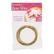 Bowdabra wire / 15,2m / gold