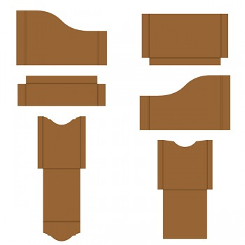 Pocket and Flipfold Inserts A - Kraft