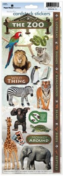 Sticker - Cardstock - Zoo