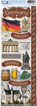 Sticker - Cardstock - Germany