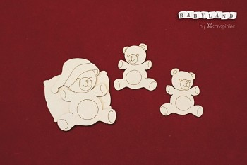 Chipboardy - Babyland - teddies