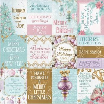 "Christmas Wishes / 12x12"" / Carol"