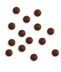Nity / 5mm / 50 ks / chocolate