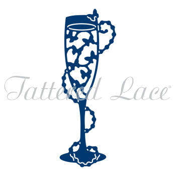Tattered Lace Champagne Butterflies