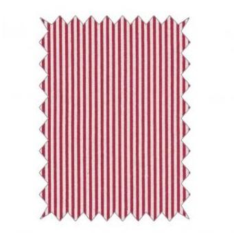 Bavlnená látka 100x70cm / stripes classical red