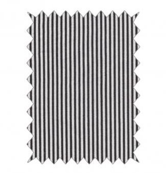 Bavlnená látka 100x70cm / stripes black