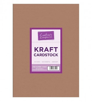Brown Kraft Card A4 / 50ks