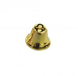 Metal Bells / 2,2cm / 10pcs / gold