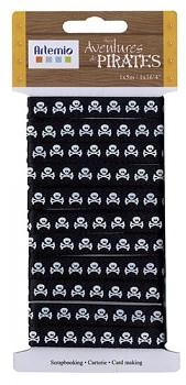 Ribbons 10 mm / pirates I.