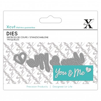 Mini Sentiment Die (4ks) - You & Me