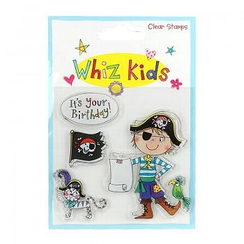 Transparentní razítka / Whiz Kids - Pirate