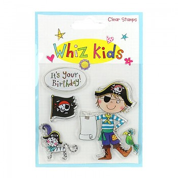 Whiz Kids Clear Stamp Pirate