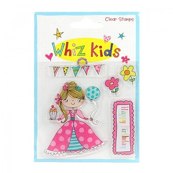 Whiz Kids Clear Stamp Princess