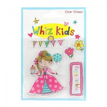 Transparentní razítka / Whiz Kids - Princess