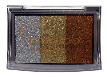 Luster Versacolor Pad / 3-farebná pigmentová poduška