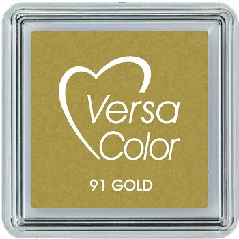 Versacolor Pigment Pad small / Gold